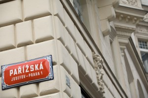 Parížská street is Prague's most exclusive shopping streets